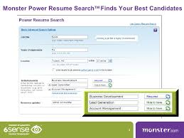 resume search power resume search