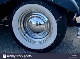 Vintage Ford Truck Hubcaps - 1932 ford model a rod hubcap with people reflected classic