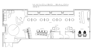 design a beauty salon floor plan sle floorplan salon pinterest salons salon design and
