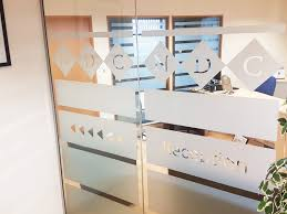 glass partitioning at national design consultancy leeds west