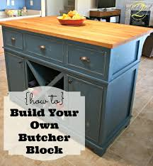 How To Build Kitchen Table by How To Build Your Own Butcher Block Addicted 2 Diy