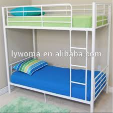 Cheap Price Double Decker Metal Bunk Bed Are Used In School - Metal bunk bed ladder