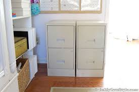 Pictures Of Filing Cabinets File Cabinet Makeover In My Own Style