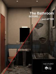 the bathroom before and after 3d models and 3d software by
