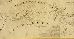 Bridgewater State University Map by Princeton Exhibit Reviews Nj History Through Antique Maps