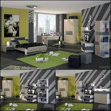 modern boys room with wall decors and green themed u2013 feg teen room