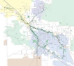 Arizona County Map Julian Wash Greenway Arizona Walk Ride U S A