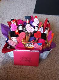 s day gift basket ideas valentines day gift basket all things crafty gift