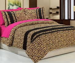 leopard print home decor confortable pink cheetah print bedding magnificent designing