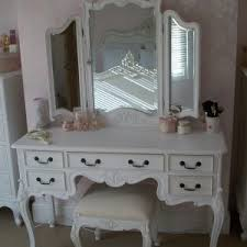 Bedroom Vanity Plans Furniture Bedroom Charming White Vanity Table Set In Vintage