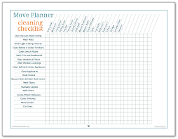 more move planner printables to help you stay on track cleaning