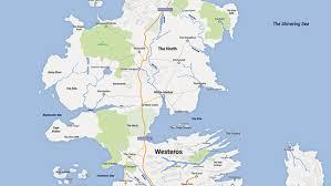Walking Dead Google Map Game Of Thrones U0027 Map Fan Creates Google Maps Version Of Westeros