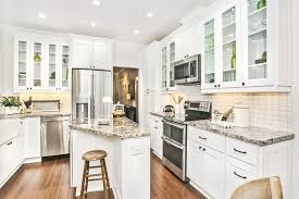 white shaker cabinets for kitchen 7 amazing tips for decorating a small kitchen with white