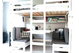 Wooden Bunk Bed With Desk Wooden Bunk Bed With Desk Underneath Size Of Bedroom