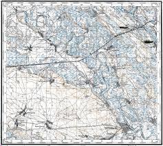 Chernobyl Map Download Topographic Map In Area Of Chernobyl U0027 Kopachi Korogod