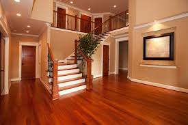Hallway Color Ideas by Painted Hardwood Floors For Colorful Nature Element Amaza Design