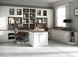 Wooden Home Office Furniture Remarkable Fitted Home Office Furniture In With Driftwood Finish