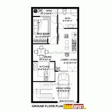 20 Stunning House Plan For Stunning House Plan For 17 Feet 45 Feet Plot Plot Size 85 Square