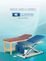 clinton industries medical tables medical tables clinton industries pdf catalogue technical