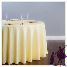 banquet table linens wholesale retail wholesale light yellow 108 round tablecloth wedding party