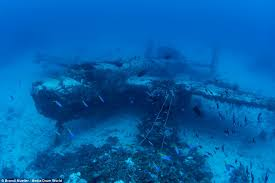 world war two aircraft lost for 70 years found pacific ocean