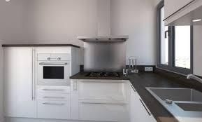 cuisine moderne blanc déco cuisine moderne blanc et bois 38 mulhouse cuisine