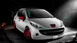 peugeot 207 red peugeot 207 empireedition by navvrat on deviantart