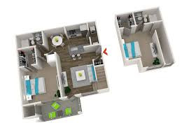 two bedroom townhouse floor plan 1 2 u0026 3 bedroom apartments in atlanta monroe place apartments