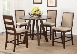 glass pub table and chairs industrial style round pub table set with regard to round pub table