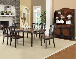 connor two tone dining set table with 18