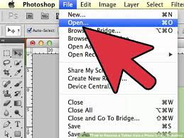 how to remove a tattoo from a photo using photoshop 9 steps