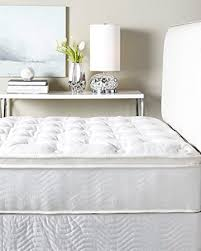 amazon com w hotels king bed pillow top mattress and boxspring