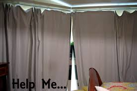 Room Darkening Curtain Rod House Help Minivans Are
