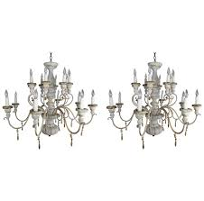 Ironies Chandelier Six Light Ironies Gilt Metal Fruit Chandelier Melissa Levinson