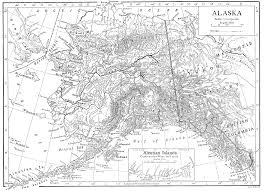 Maps Of Alaska by File 1911 Britannica Map Of Alaska Png Wikimedia Commons
