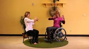 Armchair Yoga For Seniors Mini Adaptive Chair Yoga Class For People In Wheelchairs With