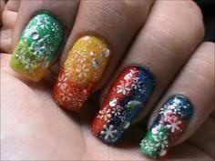 magic nails abstract lines easy nail art for short nails nail