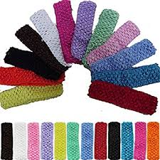 crochet hair bands 12pcs 1 5 elastic crochet headbands hair bands kid