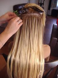 micro weft extensions micro bead hair extensions lavadene hair extensions