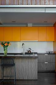 The  Best Orange Kitchen Designs Ideas On Pinterest Orange - Orange kitchen cabinets