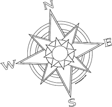 free printable coloring pages compass pirates coloring