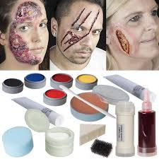ben nye halloween makeup halloween makeup professional set makeup opened gaping gashes burn