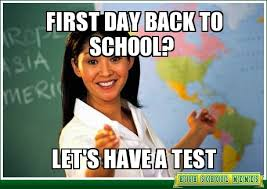 First Day Of School Funny Memes - back to school the read center