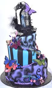 Halloween Wedding Cake by Pastry Palace Las Vegas Wedding Cake 86 Spooktacular Wedding
