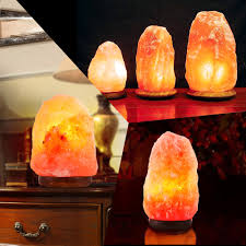 Himalayan Salt Lamp Himalayan Salt Lamp Natural Crystal Rock Shape Dimmer Switch Night