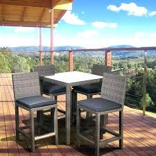 patio bistro patio set bar height best of high top bistro patio