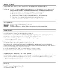 It Desktop Support Resume Sample Resume Criminology Graduate Templates