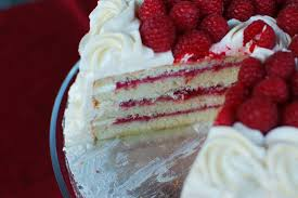 lemon cake with raspberry filling recipes food next recipes