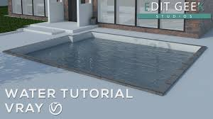 tutorial sketchup autocad vray sketchup easy realistic water tutorial sketchup pinterest