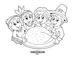 facts about first thanksgiving thanksgiving coloring book pages for kids